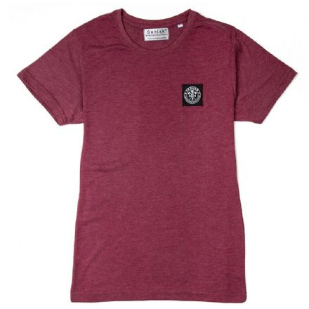 "Senlak ""Ada"" Ladies T-Shirt - Heather Burgundy"